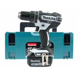 PERCEUSE VISSEUSE PERCUSSION MAKITA DHP482 1 BATTERIE 3AH BL1830 18V LI-ION