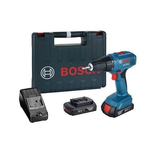 bosch pro gsr 1800 li perceuse visseuse 18v li ion 2 batteries 1 5ah ebay. Black Bedroom Furniture Sets. Home Design Ideas