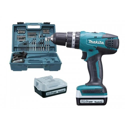 Visseuse Makita HP347DWE + 74pcs
